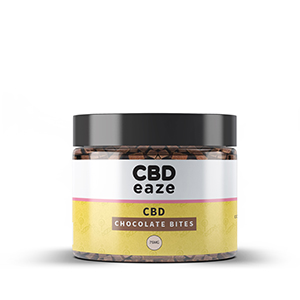 CBDeaze 75mg CBD Chocolate Bites